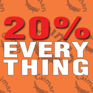 20% Off Everything + Free Gift