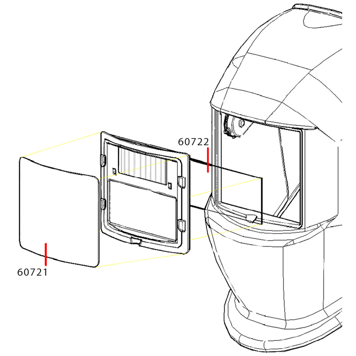 60721 - Front Cover Lens (2 Pack)