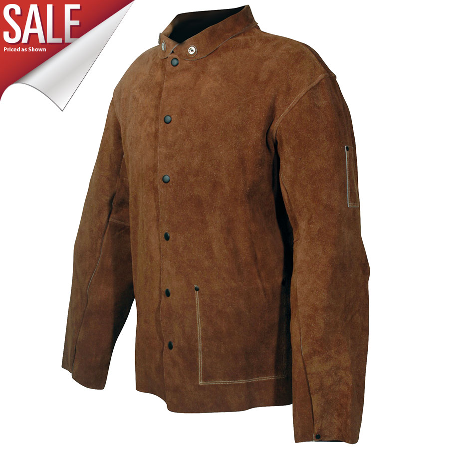 "5030 - Leather Coat, 30"", Tuff-Steer™"