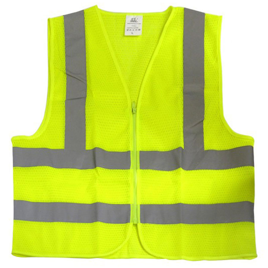 Safety Vest, Hi-Viz Green Mesh