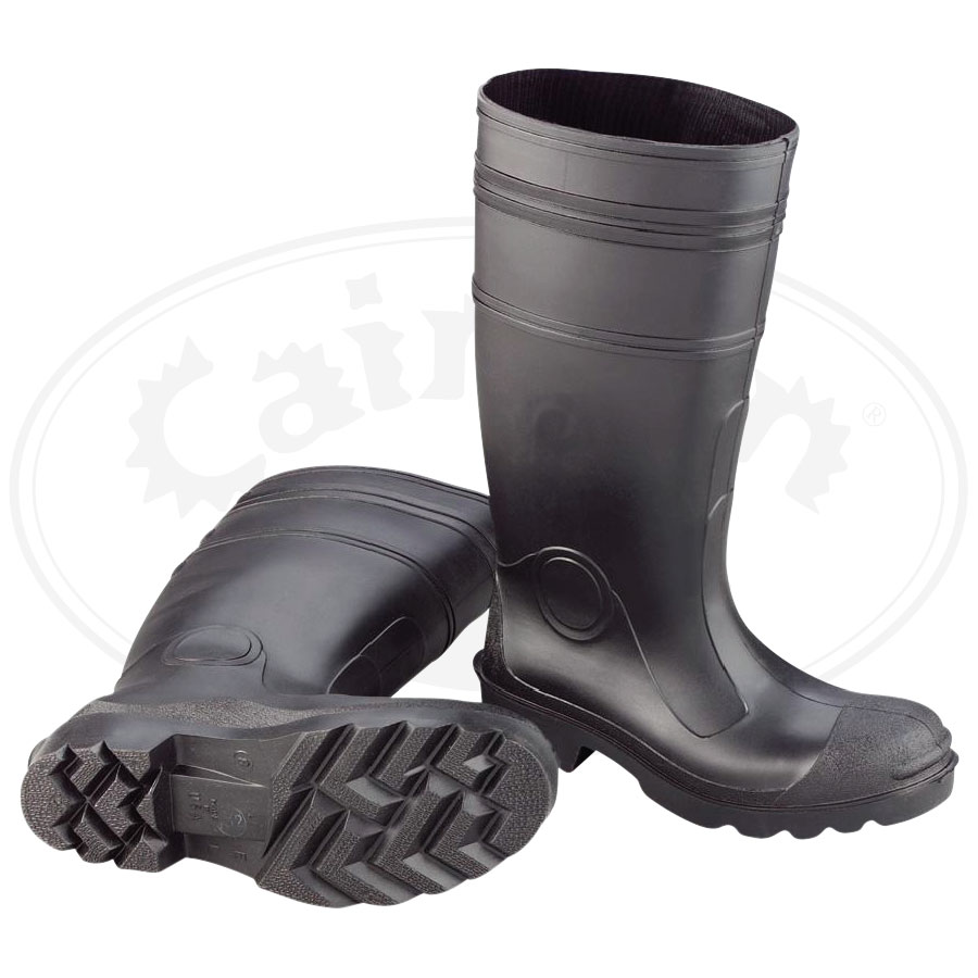 Black PVC Boot (Steel Toe)