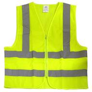 Safety Vest, Hi-Viz Green Mesh