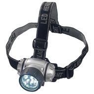 9-LED Headlamp