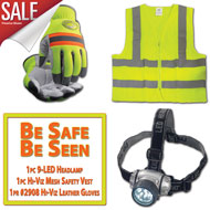 Be Safe, Be Seen Hi-Viz Combo