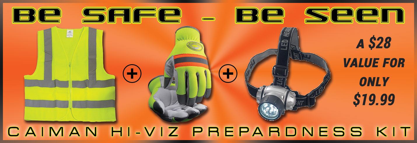 Caiman® Be Safe Be Seen Combo