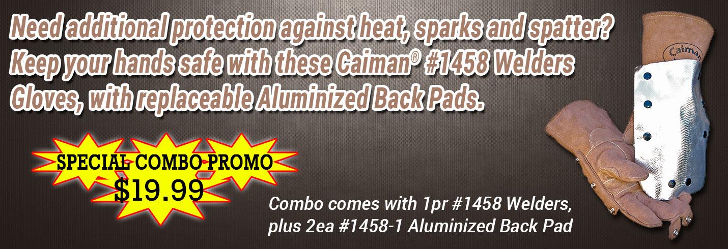 Caiman® #1485 - Aluminized Welders Combo