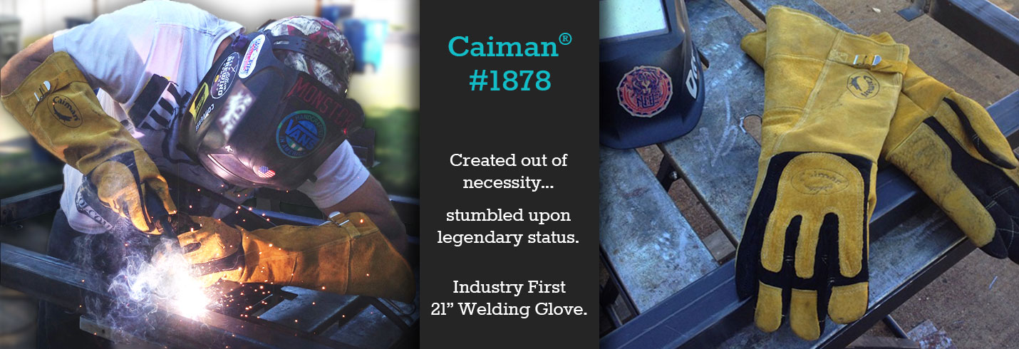 Caiman® #1878 - Created out of necessity... Stumbled upon legendary status.