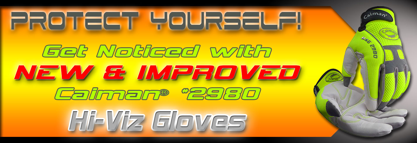 Caiman® 2980 Hi-Viz Reflective Gloves