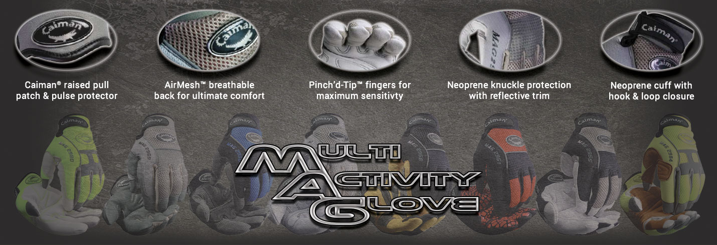 Caiman® Mechanics | Multi-Activity Gloves
