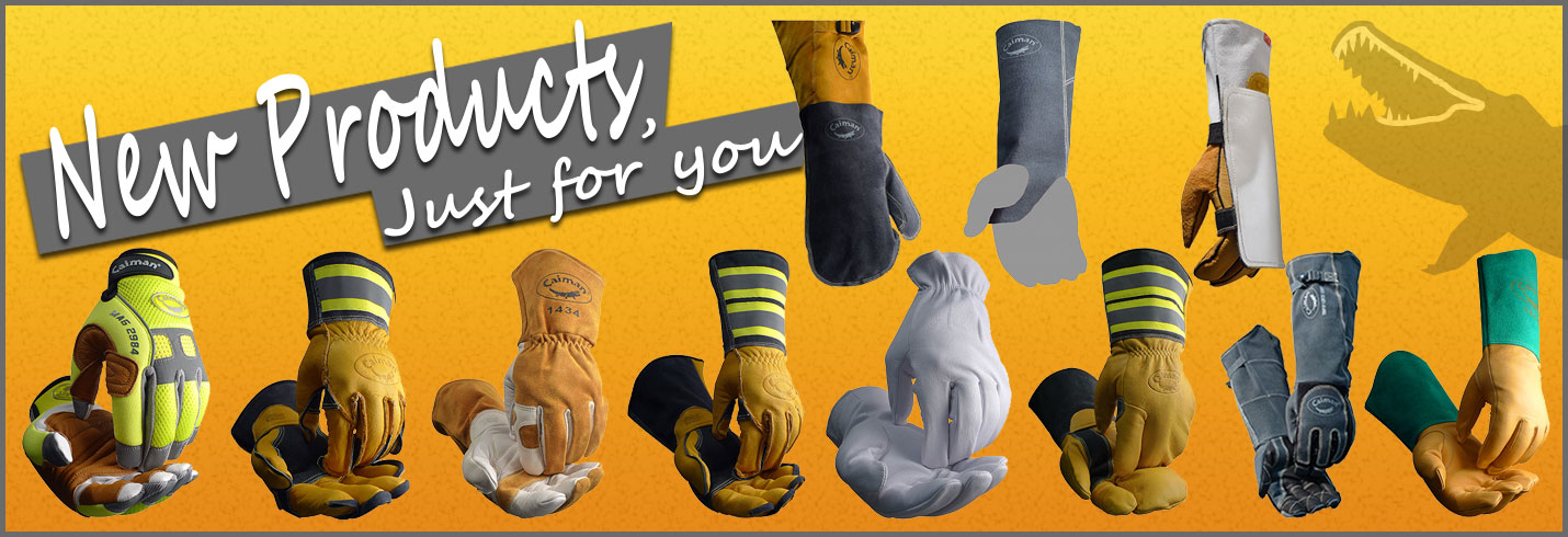 Caiman® Gloves - New Products Just For You