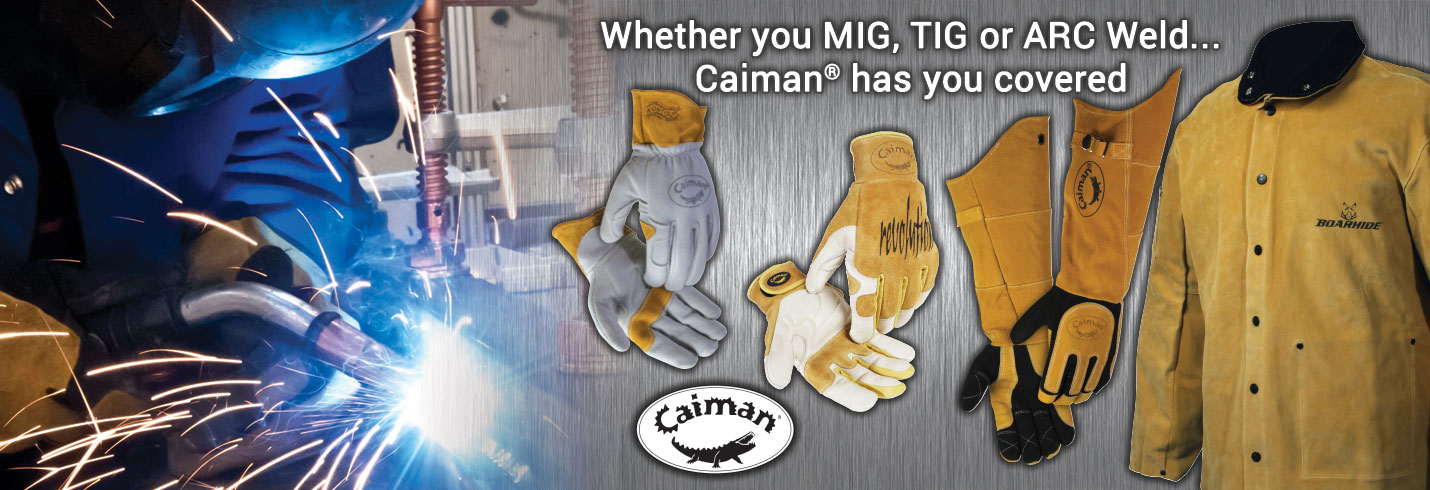 Caiman® Welding Gloves